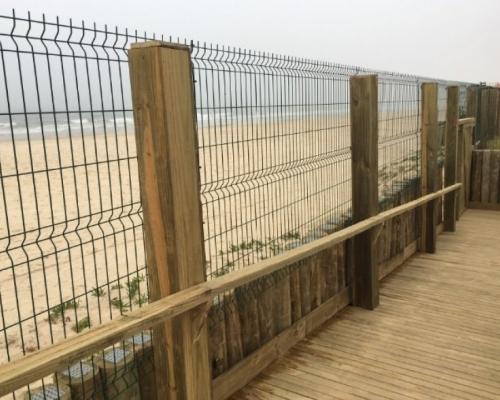 Gradil pvc Praia Ingleses. Garantia total.