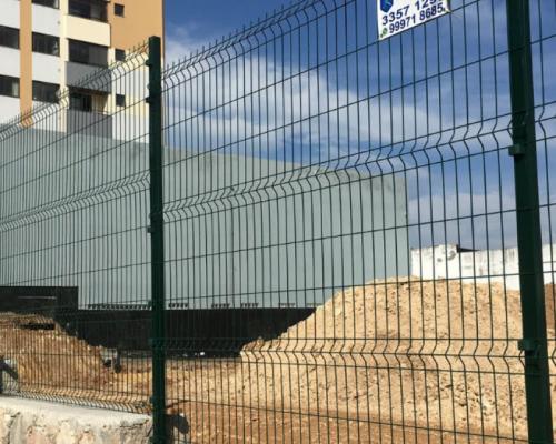 Gradil Aço Galvanizado Revestimento PVC Verde